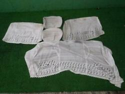 Toyota Sv30 Vista Seat Cover Set Of 5 Used Jdm From Japan F/s