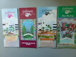 4 Holy Bull Horse Racing Programs - All Different Stakes - 2 W/ Cigar All Mint