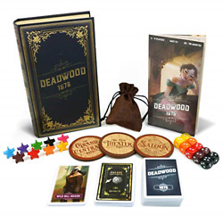 Deadwood 1876 Board Game - Old West Game For Friends And Family -a Game Of Cards