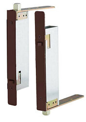 Ives Automatic Top And Bottom Flush Bolts For Wood Doors Dark Satin Bronze Nib