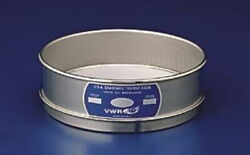 Vwr Testing Sieves, All Stainless Steel 450ss8h Half Height Labware