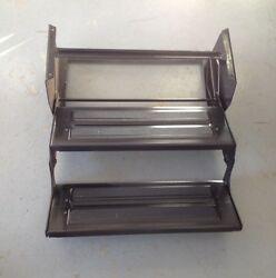 Double Entry Step For Rv / Camper / Trailer / Motorhome Free Shipping