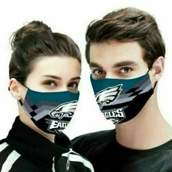 Philadelphia eagles - Reusable Cotton Face Mask Unisex Adult Mouth Fits all