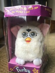 Furby 70-800 Series 1 Tiger Snowball Electronic Toy - White