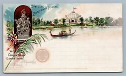World's Columbian Exposition 1893 Antique Official Pioneer Postcard Chicago Il