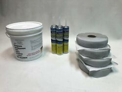 Rubber Roof Install/repair Kit Small And Large   Flair Distribution