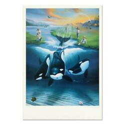 Wyland, Keiko's Dream Limited Edition Lithograph,