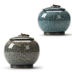 Medium-Size Funeral Urn By Midsize Cremation Urns for Ashes Ceramics Urns Home