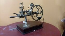 Antique Clock Watchmaker's Jeweler's Topping Tool Rounding Up Tool Excellent