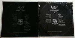 The Kent School Glee Clubs Recordings 1966 / 1967 2 Rare Limited Edition Records