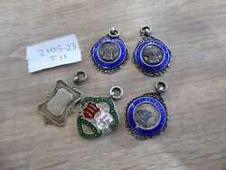 Quality Collection Of Various Solid Silver Fobs