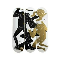 Cleon Peterson The Crawler Triptych Skateboard Deck Limited Ed 50