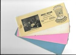Vintage Celluloid Blotter Perpetual Calendar Angiers Emulsions Patent Meds 1904