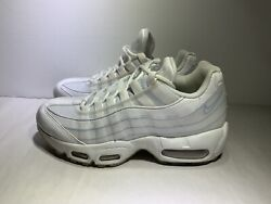 Nike Air Max 95 Se Womenand039s Running Shoes Size 5.5 Summit White Style 918413 102