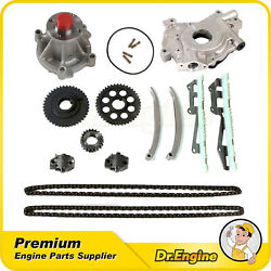 For 1997-1999 2000 2001 Ford F150 4.6l V8 Sohc Timing Chain Water Oil Pump Kit