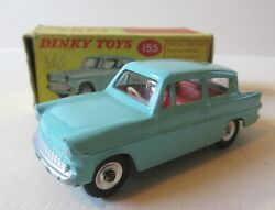 Dinky Toys Version Of The Ford Anglia 105e Saloon - 1960's Dinky Toys Cars