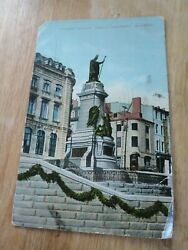 ANTIQUE MONUMENT LAVALLE QUEBEC POSTCARD 1912