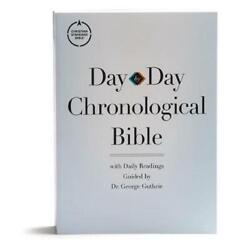 Csb Day-by-day Chronological Bible, Tradepaper Black Letter, 365 Days, One Year