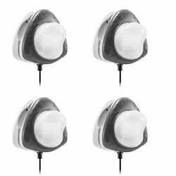 Intex Above Ground Underwater Led Magnetic Swimming Pool Wall Light 4 Pack