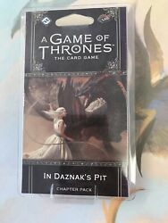A Game Of Thrones The Card Game Second Edition – In Daznak's Pit Ffg, 2018