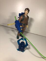 Vintage 1984 Kenner The Real Ghostbusters Peter Venkman Figure Proton Pack Ghost