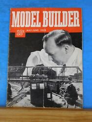 Model Builder 1938 May June Lionel Magazine Old Mill And Waterwheel Station
