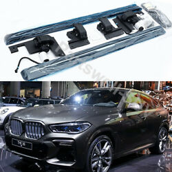 Deployable Electric Running Board Side Steps Pedals Fits For Bmw X6 2020 2021