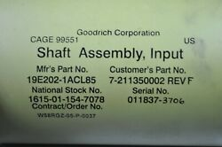 Mcdonnell Douglas Engine Shaft Ch-47 Uh-60 Ah-64 Military Helicopter Aircraft