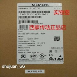 1pc Siemens 6sl3210-1ke23-2ap1 / 6sl3 210-1ke23-2ap1 New Fast Delivery Free Ship