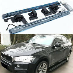 Deployable Electric Running Board Side Step Pedals Fits For Bmw X6 F16 2015-2019