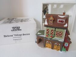 Dept 56 58238 Hather Harness Dickens Village Lighted Building W/cord D1