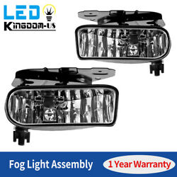 For 2002-2006 Cadillac Escalade Driving Bumper Fog Light Housing Assembly Lhandrh