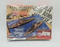 Lindberg Great Moments In History Attack On Pearl Harbor 70887 Model Kit New