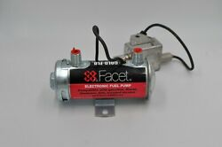 Military 12v Facet Solid State Fuel Pump Carbureted Engines Vehicles Aircraft