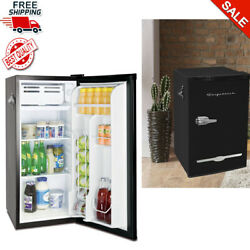 3.2 Cu Ft Retro Style Mini Fridge Compact Small Office Dorm Refrigerator Cooler