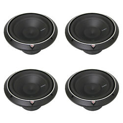 New Rockford Fosgate 15 800 W 2-ohm Punch Series Car Audio Subwoofer 4 Pack