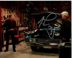 Tim Allen And Jay Leno Signed Autographed Jay Lenoand039s Garage Photo