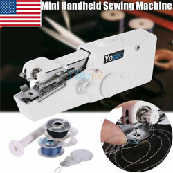 Portable Stitch Sew Hand Held Quick Sewing Machine Handy Cordless Repair Tool Us