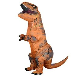 Mascot Inflatable Anime Cosplay Dinosaur For Adult Kids Dino Halloween Costume $62.90