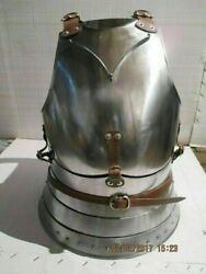 Breast And Backplate Armor 18ga Chest Armor/medieval Jacket Reenactment Larp