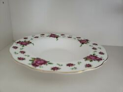 Royal Albert New Country Roses White Soup Plate Set Of 12