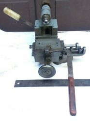 Mill Jewelry Watchmaker Milling Machine With Collets Horazontal Grinding