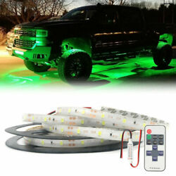 Green Neon Under Car Accent Underbody Led Glow Lights For Ford F150 F250