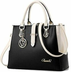 Purses And Handbags For Women Tote Shoulder Crossbody Bags With Long Strap Detac