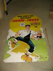 Lil Abner 1950s comic book cereal box POST store display Shmoo Al Capp