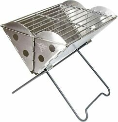 Barbeque Portable Camping Grillades Robuste Randonnee Mixte Adulte Gris