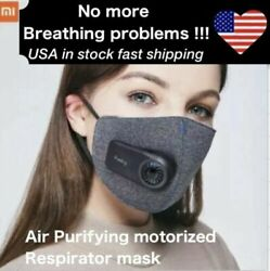 Xiaomi PURELY Air Purifying Electric Respirator Face Mask Washable Reusable  $44.99