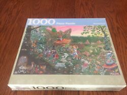 Alice In Wonderland 1000 Piece Jigsaw Puzzle-august 5 2010 Rare Collectible