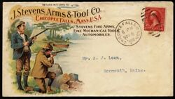 J.stevens Arms And Tool Co. Guns And Powder Advertising Cover