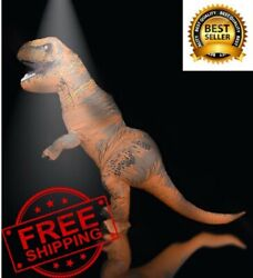 Mascot Inflatable Cosplay Dinosaur For Adult Men Kids Cartoon Halloween Costume $54.99